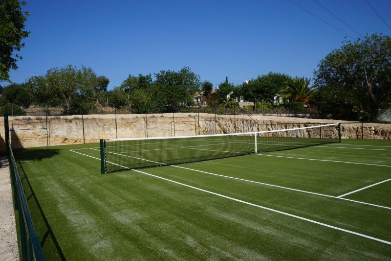 Synthetic grass tennis court, Vale Telheiro