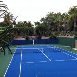 Fantastic hard tennis court in Albufeira
