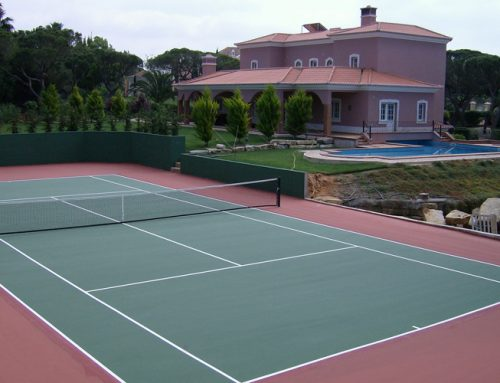 Tennis Court in Fonte Santa