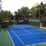 Fantastic hard tennis court in Albufeira