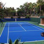 Fantástico campo de ténis duro em Albufeira