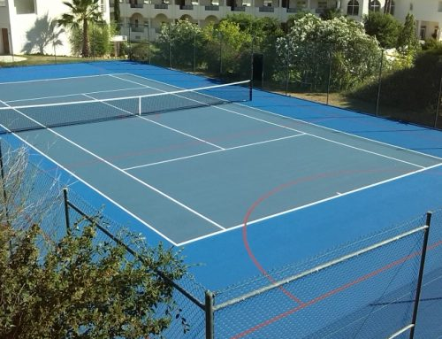 Tennis and netball court at Golf and Sports Resort