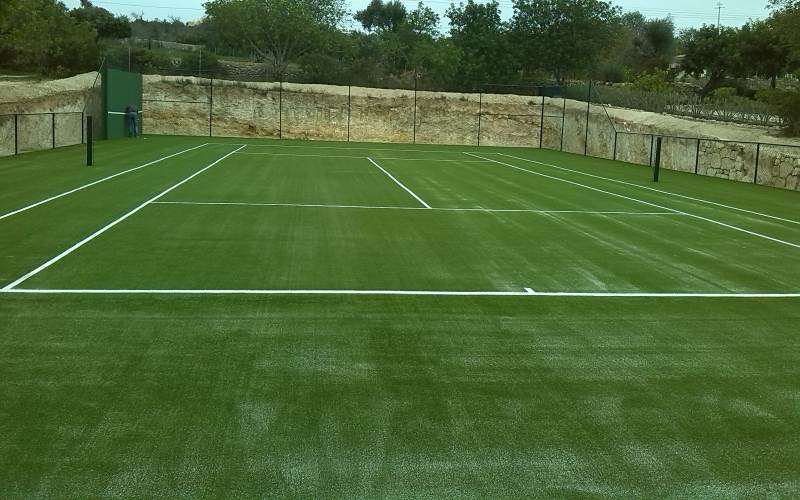 Synthetic grass tennis court, Vale Telheiro