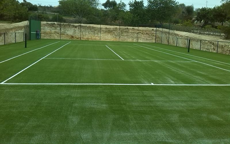 Campo de ténis de relva sintética, Vale Telheiro