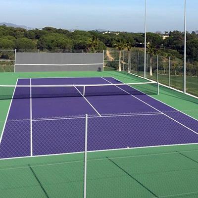 Tennis Court New Construction