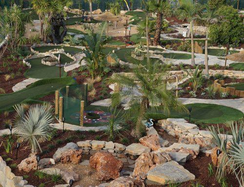 18 holes Minigolf circuit, Golfland, Alvor